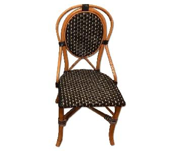 Bamboo Bistro Style Dining Room Chair