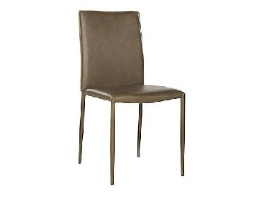 Safavieh Karna Dining Chair in Antique Brown