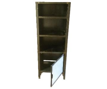 Crate & Barrel Metal Shelf