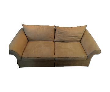 Cindy Crawford Home Microsuede Sofa