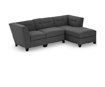 Macy's 3-Piece Sectional Sofa w/ Chaise