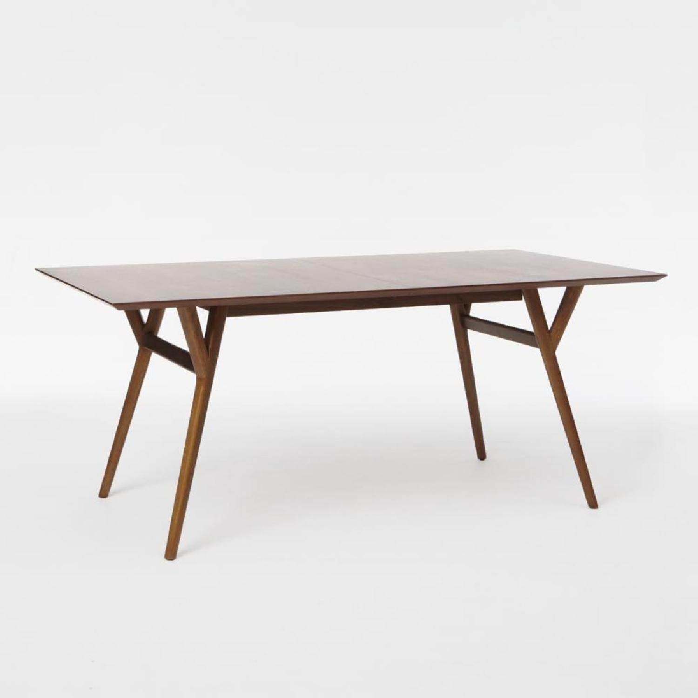 West Elm Mid Century Walnut Dining Table - AptDeco