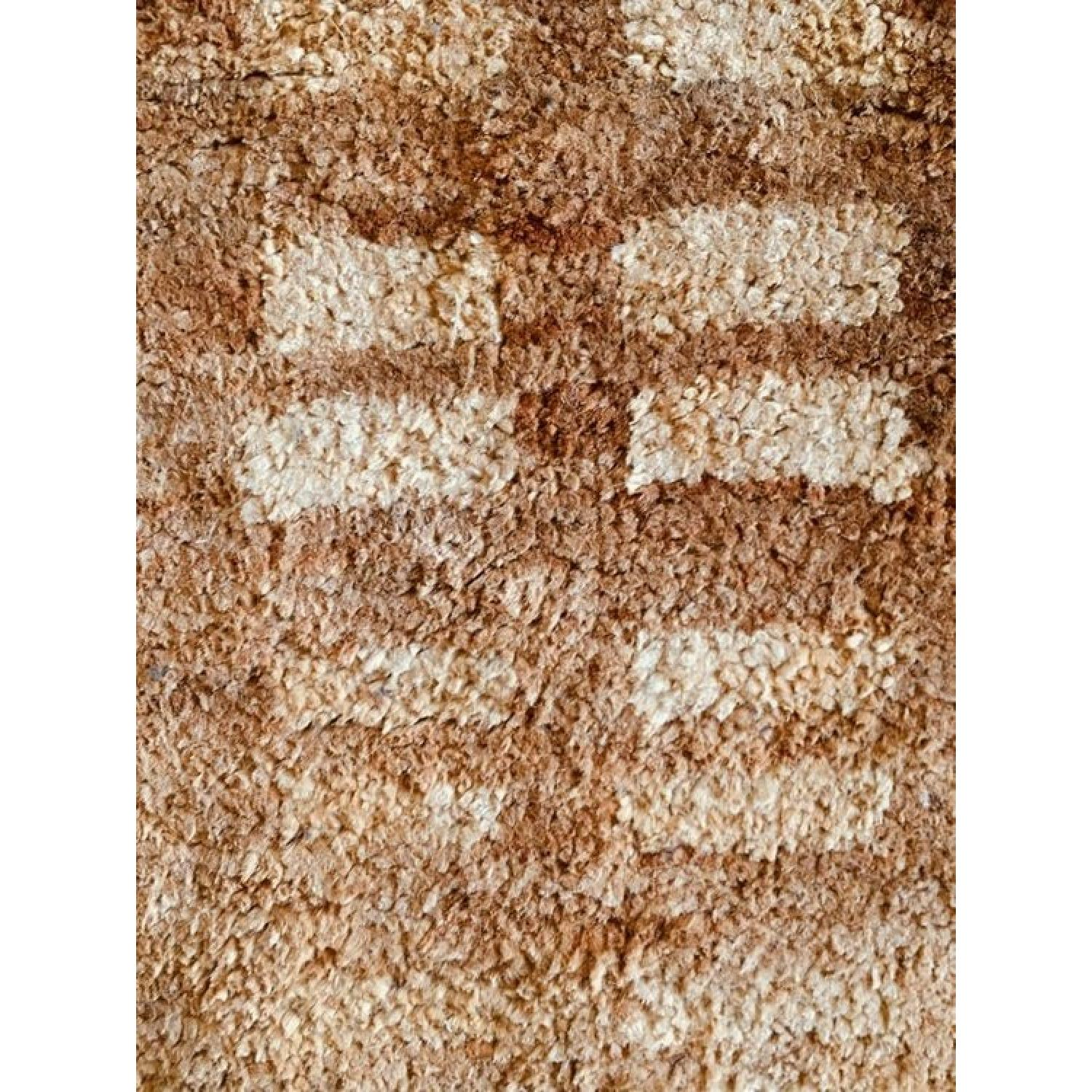 Dwell Studio Blocks Hand Knotted Jute Camel Area Rug-1