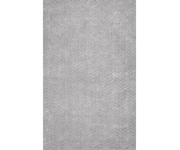 nuLoom Hand Woven Lundberg Rug in Grey