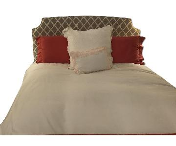 Serena & Lily Fillmore Queen Bed in Bark Diamond
