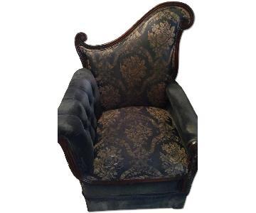 Art Deco French Lobby Chair
