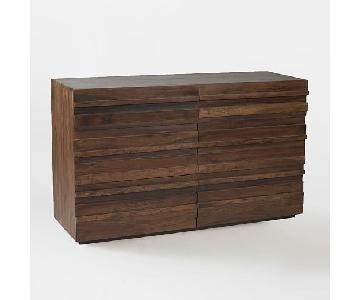 West Elm Stria 6-Drawer Dresser in Honey