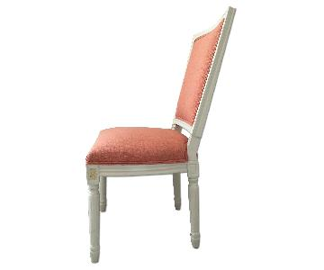Upholstered Wood Frame Dining Chair