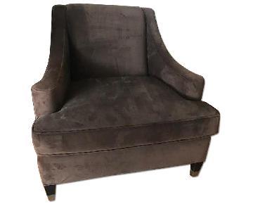 Room & Board Microsuede Chair