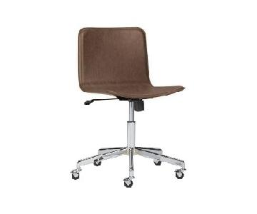 CB2 Form Brown Office Chair