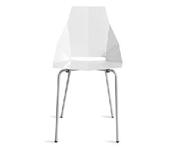 Blu Dot White Real Good Chair