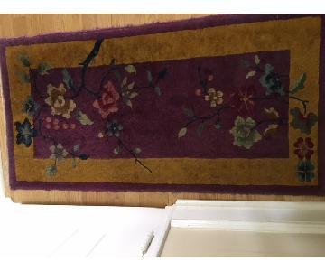 Antique Chinese Art Deco Mat
