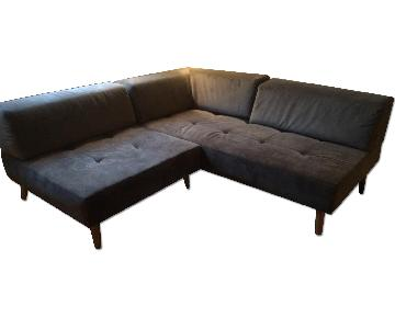 West Elm Retro Tillary Sectional Sofa