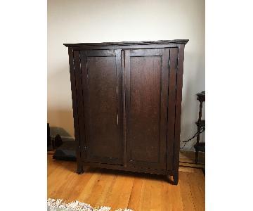 Pottery Barn Media Storage Cupboard