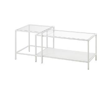 Ikea Vittsjo Glass Nesting Tables
