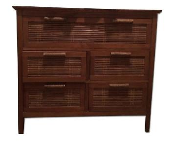 Wood & Bamboo Dresser