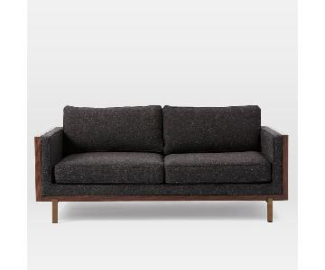 West Elm Wyatt Rosewood Encased Sofa