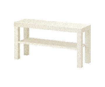 Ikea TV Stand in White