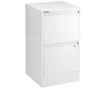 Bisley 2 Drawer Locking File Cabinet