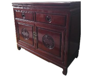 Oriental Rosewood Buffet/Serving Table