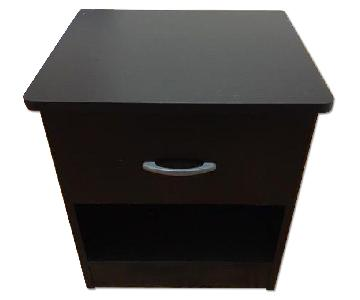 Wood Night Stand/Side Table