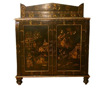 18th Century Dutch Chinoiserie Cabinet/Dry Bar