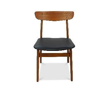 Danish Mid Century Farstrup Teak Dining Chair