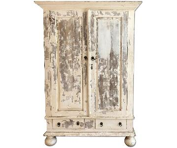 Vintage Distressed Armoire