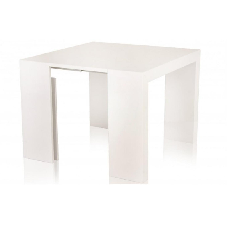 Modani T3 White Lacquer Console Dining Table ...