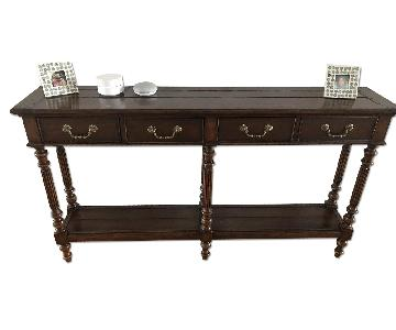 ABC Carpet and Home Neoclassical Solid Wood Console