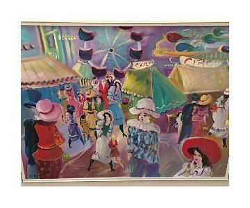 Colorful Painting of Circus