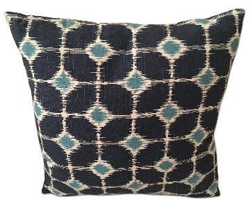 Dwell Studio Blue Cushion