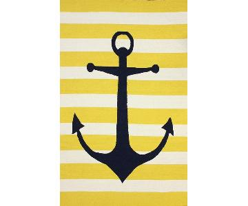 Rugs USA Nautical Anchor Area Rug