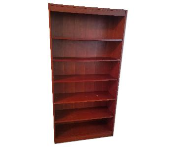 Brown Wood Bookcase