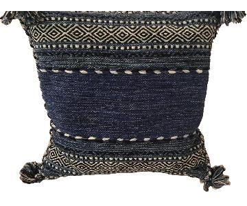 Dwell Studio Blue Patterned Pillow