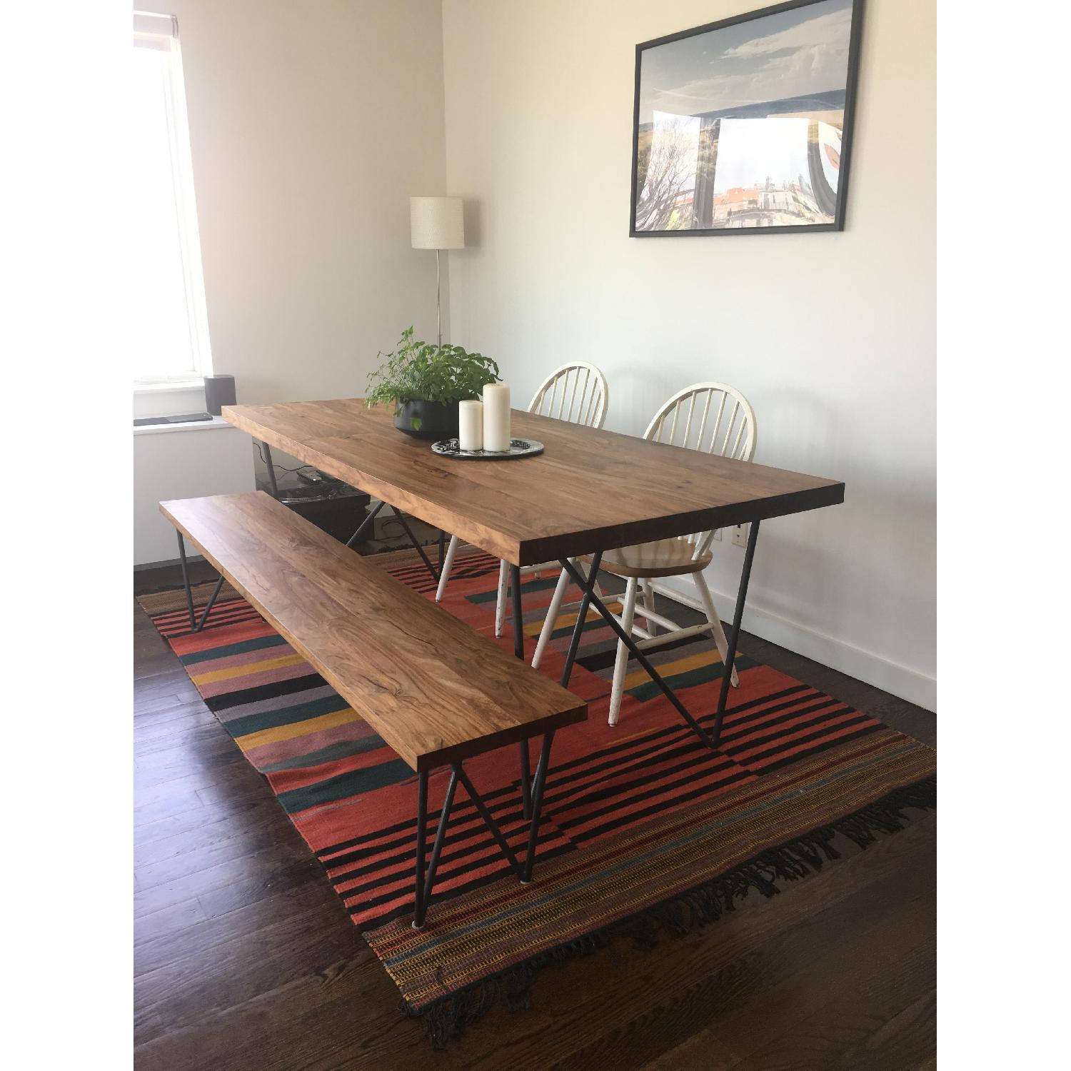 ... CB2 Dylan Solid Wood Dining Table 0 ...