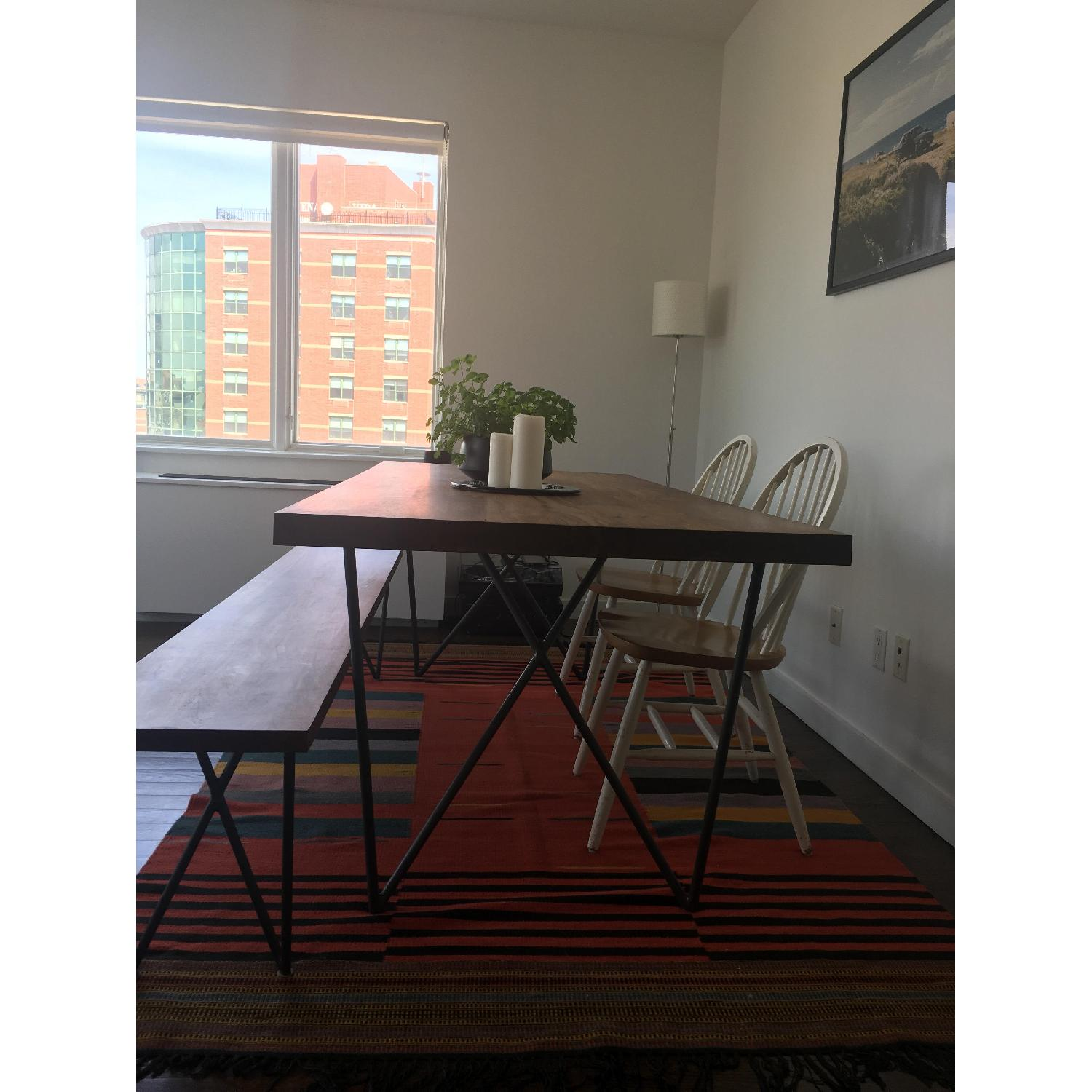 ... CB2 Dylan Solid Wood Dining Table 3 ...