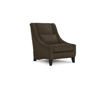 Mitchell Gold + Bob Williams Marlena Chair in Dark Brown