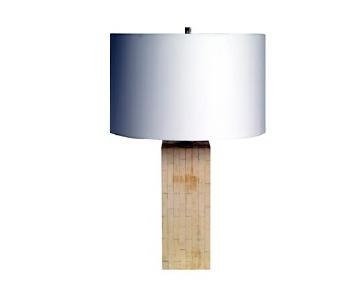 Mitchell Gold + Bob Williams Tully Faux Bone Table Lamp
