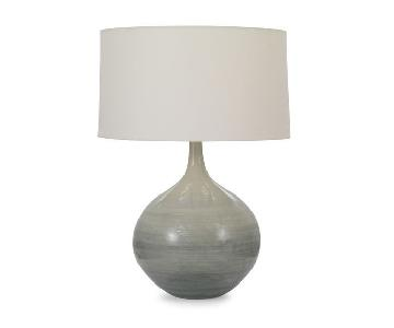 Mitchell Gold + Bob Williams Lydia Table Lamp in Dark Grey