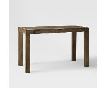 West Elm Parsons Desk w/ Bone Inlay