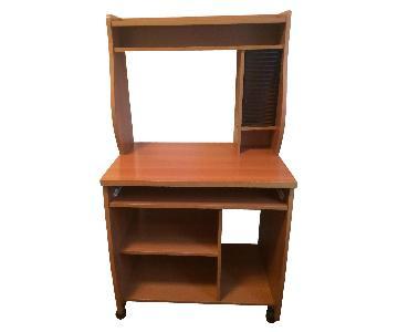 Lifestyle Furniture Desk w/ Hutch & Chair