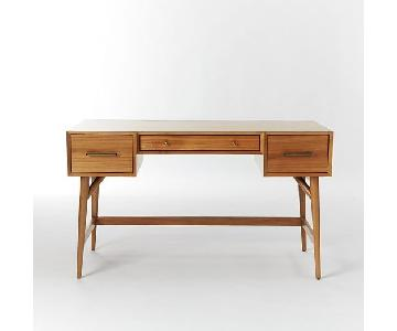 West Elm Mid-Century Desk in Acorn