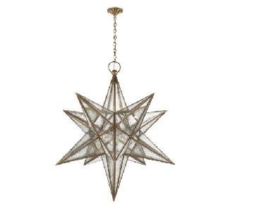 Circa Lighting Moravian ML Star Lantern in Gilded Iron