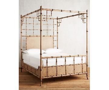 Anthropologie Honoka Queen Size Bed