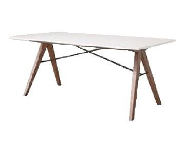Urban Outfitters White Dining Table