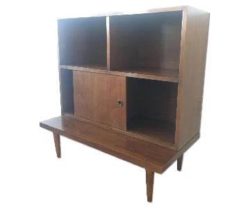 Mid Century Cubby/Bookshelf