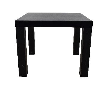 BoConcept Black Wood Extension Dining Table