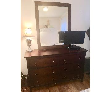 6 Drawer Dresser w/ Mirror