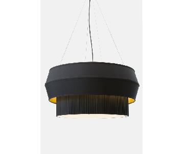 Rich Brilliant Willing Delta IV Black Pendant Lamp